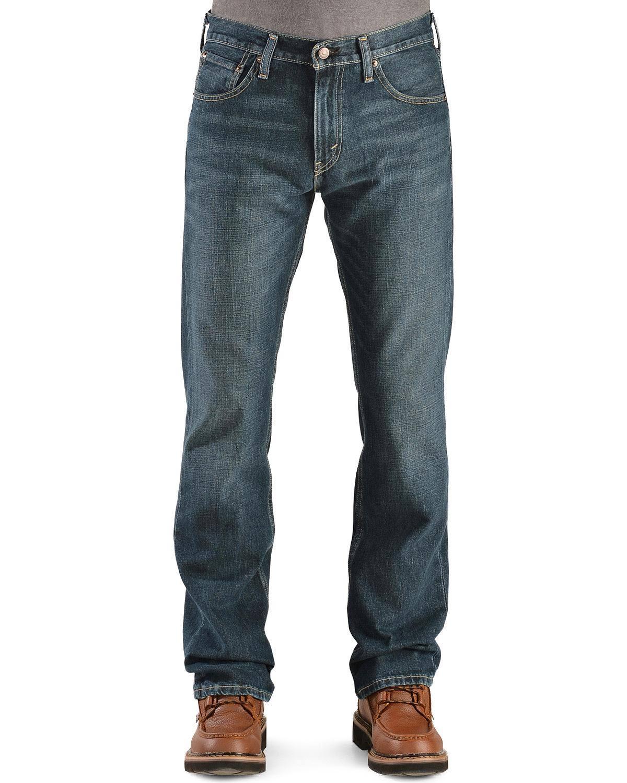 Levi's 30x34 Slim Boot Überholung Cut Männer Jeans 527 rnqwzE0Br