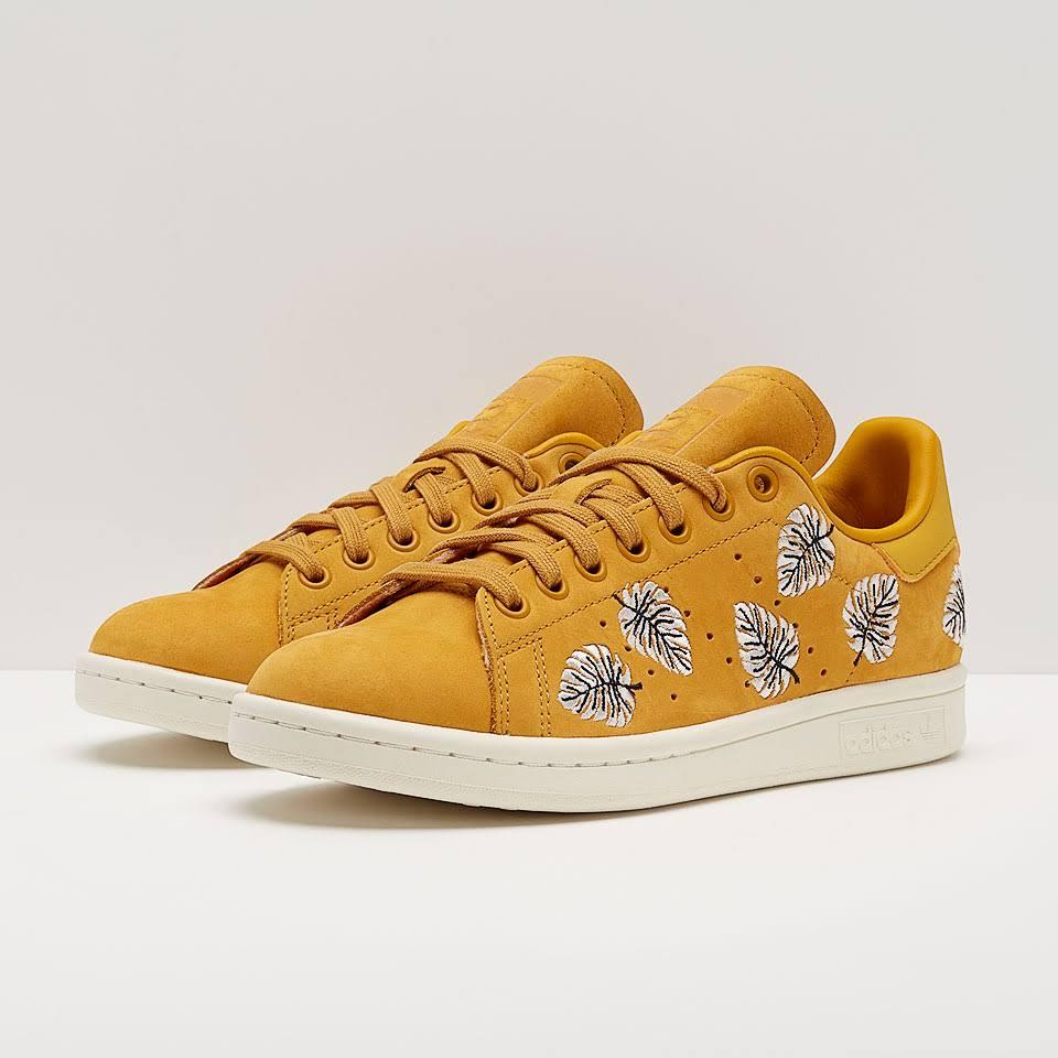 adidas Originals Womens Stan Smith Craft Gold