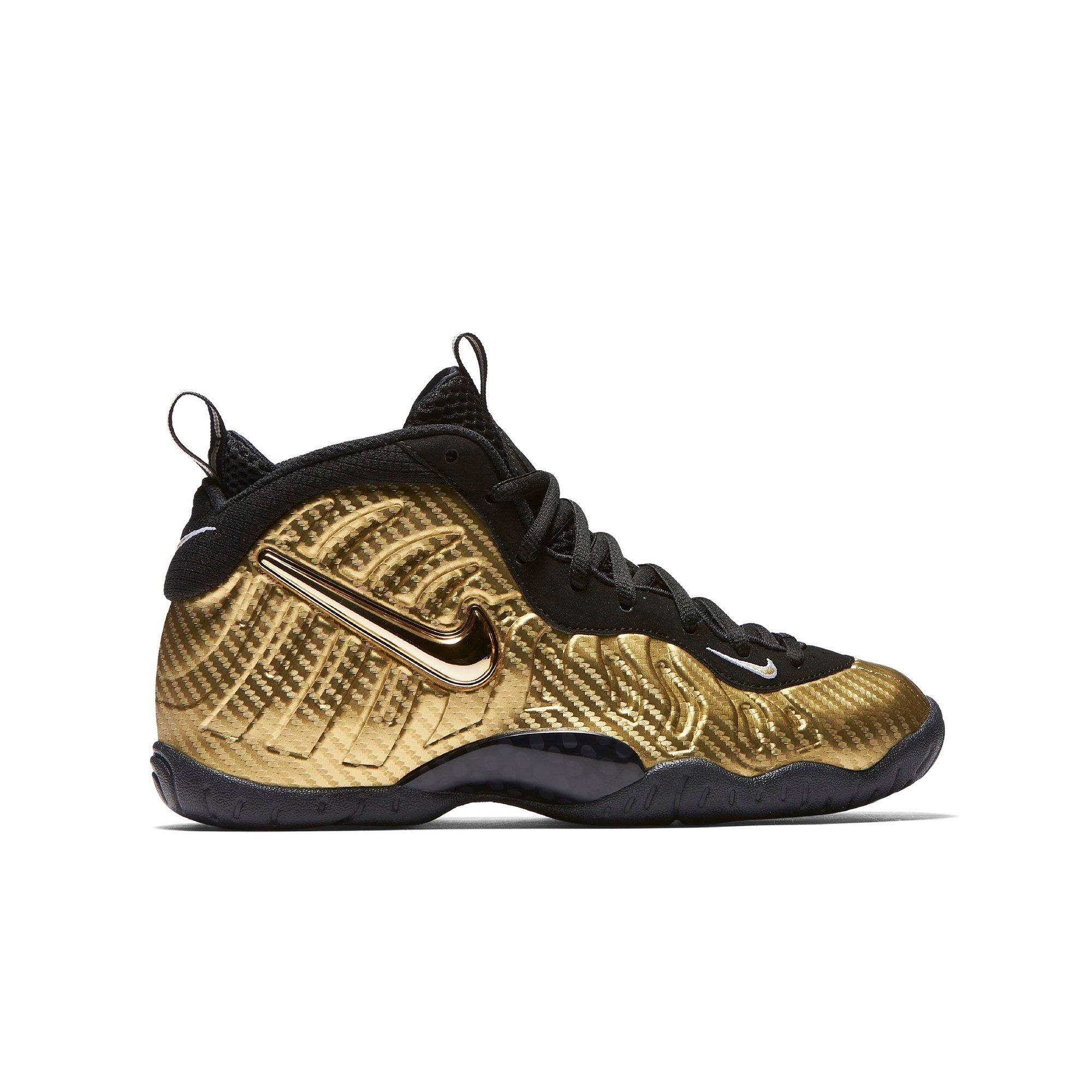 Nike Kinderschuhgröße Pro Little 7y Posite gold Big rw7rS4