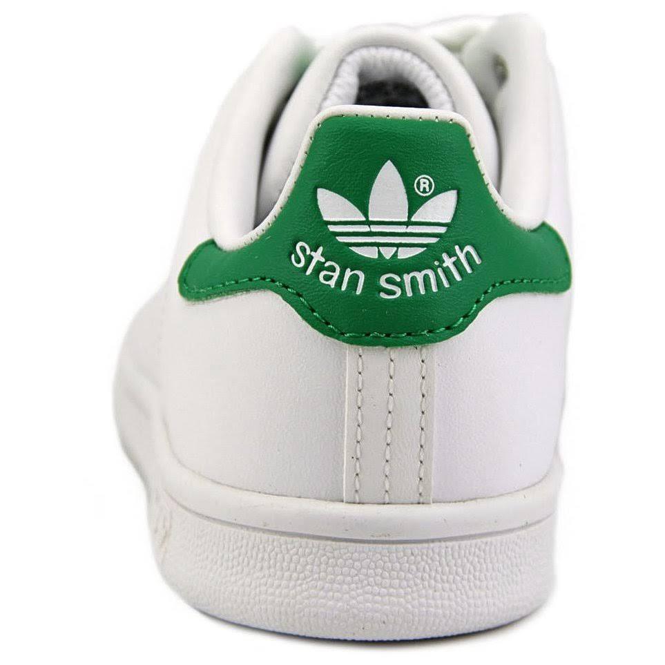 5 ginnastica pelle Smith Stan bambiniBianco Scarpe in per 10 Biancoverde da roCWdQBEex