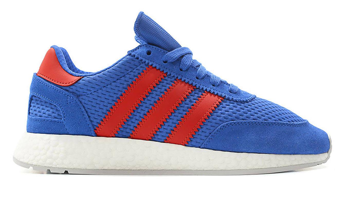 Runner D96605 en resolutie Iniki hoge grijs Adidas blauwrood 5923 Originals I VGSpLqMUz