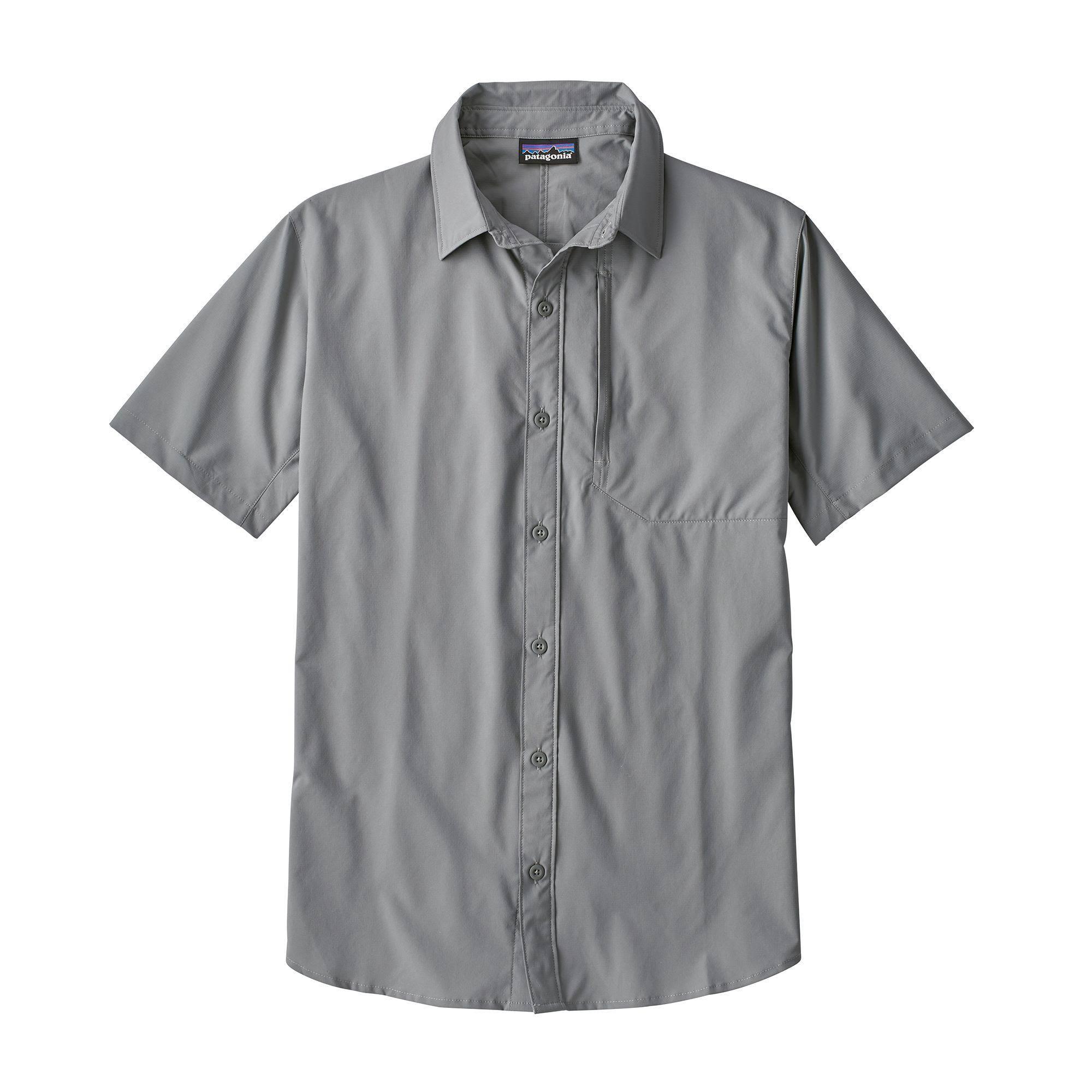 Skiddore Shirt Patagonia 53435 Herren M Grau 0gxwqOA5