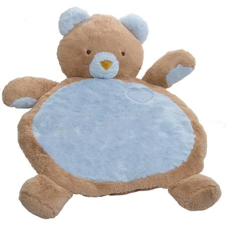 Mary Meyer Bestever Baby Mat, Blue Bear