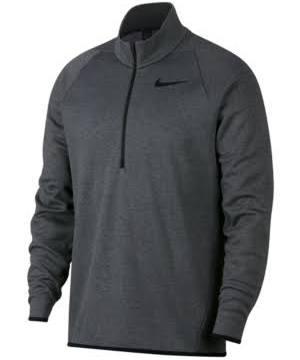 Charcoal Nike Top Quarter Hthr zip Therma wxCHOqa