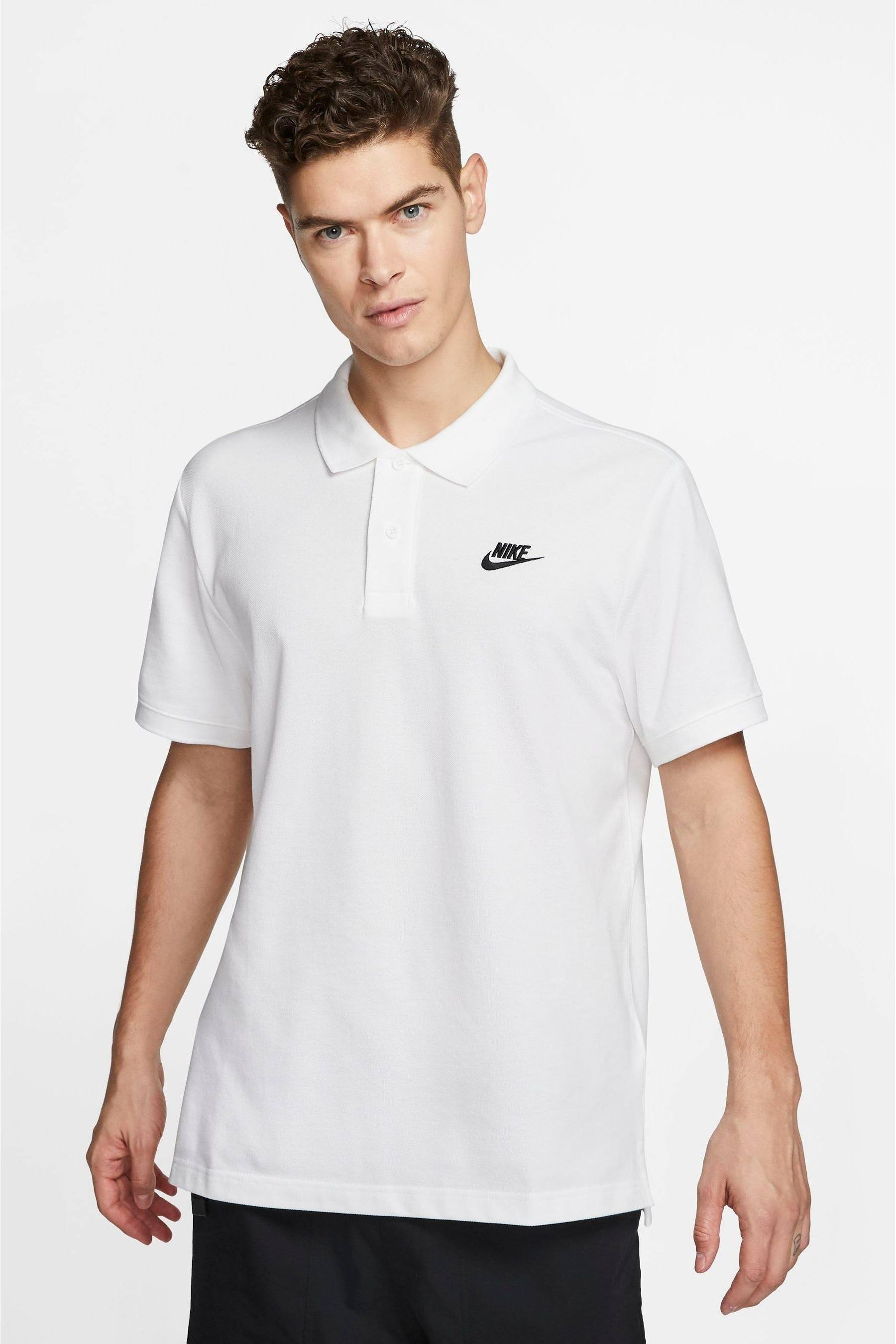 Nike RF Men Tennis Polo Shirt S White