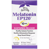 Terry Naturally Melatonin Ep120 10 Mg Sustained Release 60 Vegan Tablets