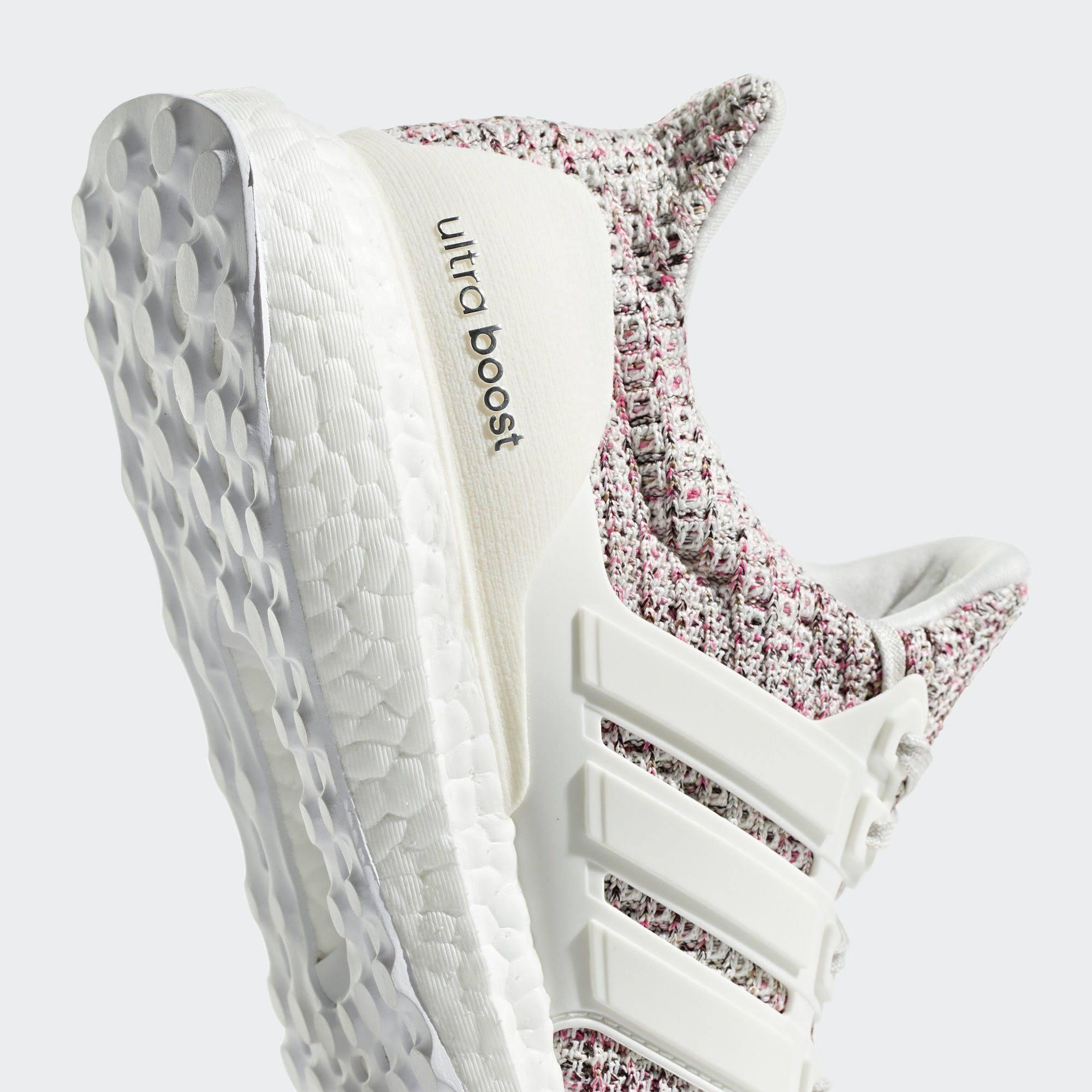 Laufschuh 37 Ultraboost Rosa Weiß Weiß 3 White Schuh Performance 1 Adidas 1Bwpqw