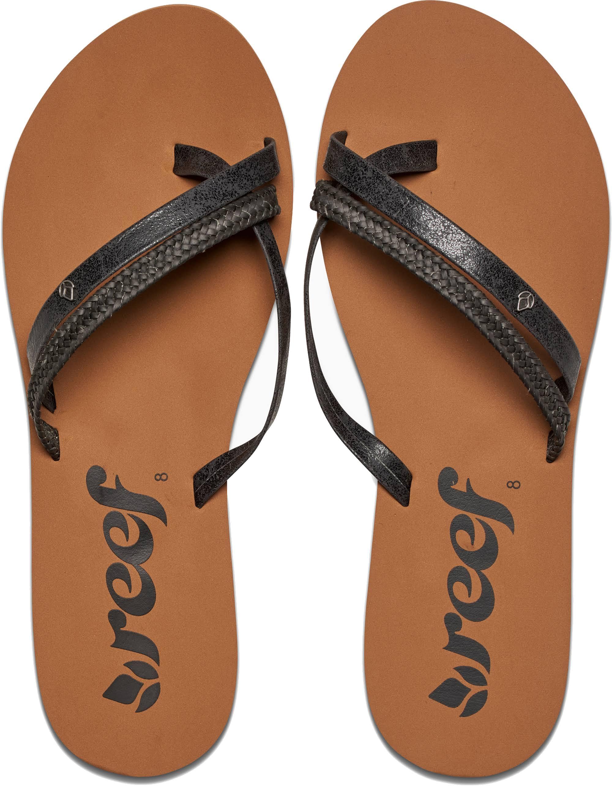 Reef 6 Sandals Black 0 black O'contrare Women Lx Size Women q0WOqvZr