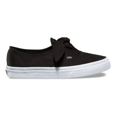Mujer White Black Vn0a3mu21wx Knotted True Authentic 11 para Vans gBfqFw