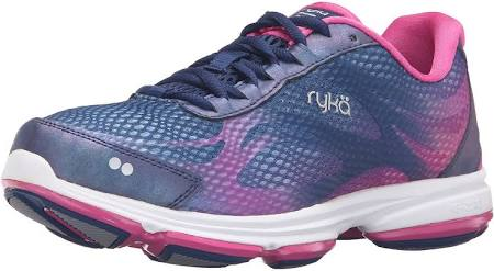 Women's Blue Shoe Walking 5 Ryka pink 2 Devo 5 Plus Blue Uk pink dXqYwCY