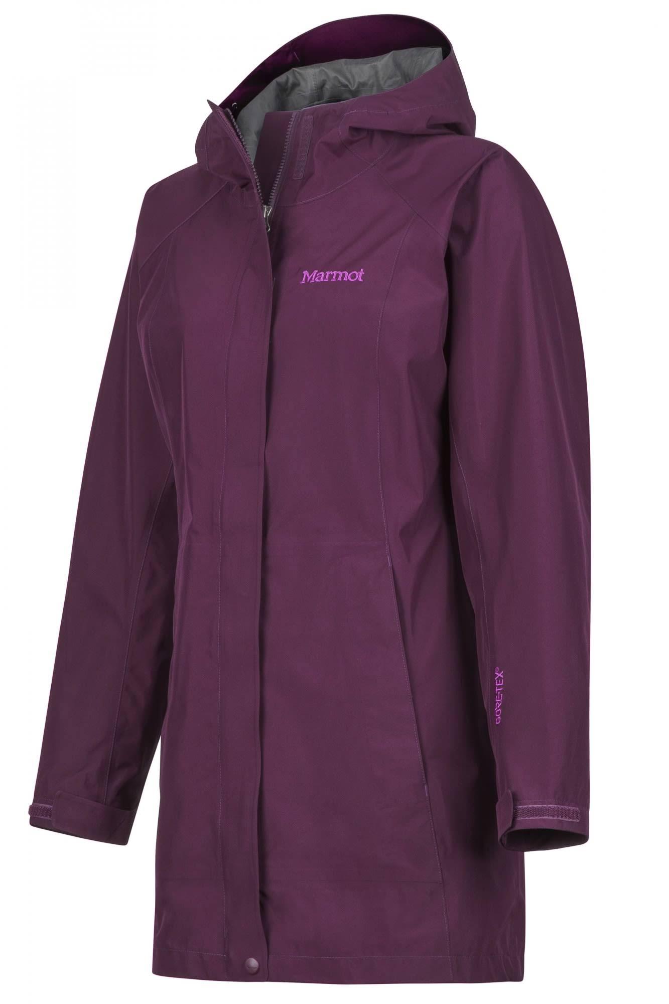 45480 Para Marmot Tamaño tex Grande Oscuro Púrpura Mujer Essential Chaqueta Gore BwUZq4ZY