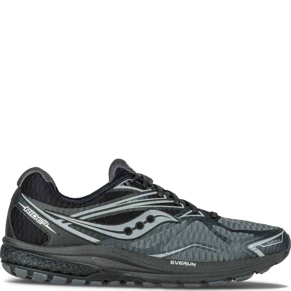 5 Black Reflex Ride silver Shoe Running Men's 7 Saucony 9 q7vOOz