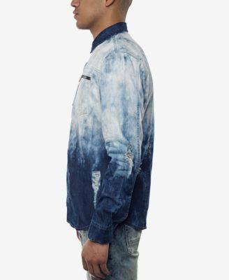John Hemd Dyed Cumuluswash Sean Mens 2xl Knopf Dip Oben Mit qRdSIwStx
