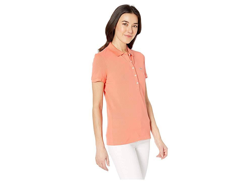 Polo 44 Lacoste Cinco Fit Camisa Rosa Slim De Botones gwxnqTq1