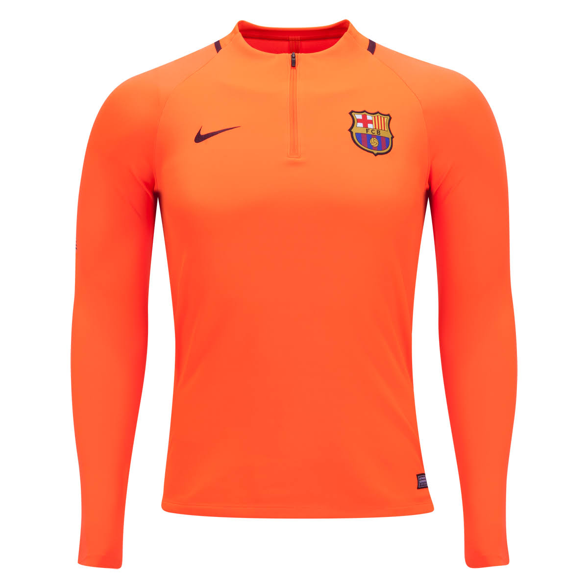Oberteil Nike 2017 Orange 2018 Barcelona Squad Drill RR1wq