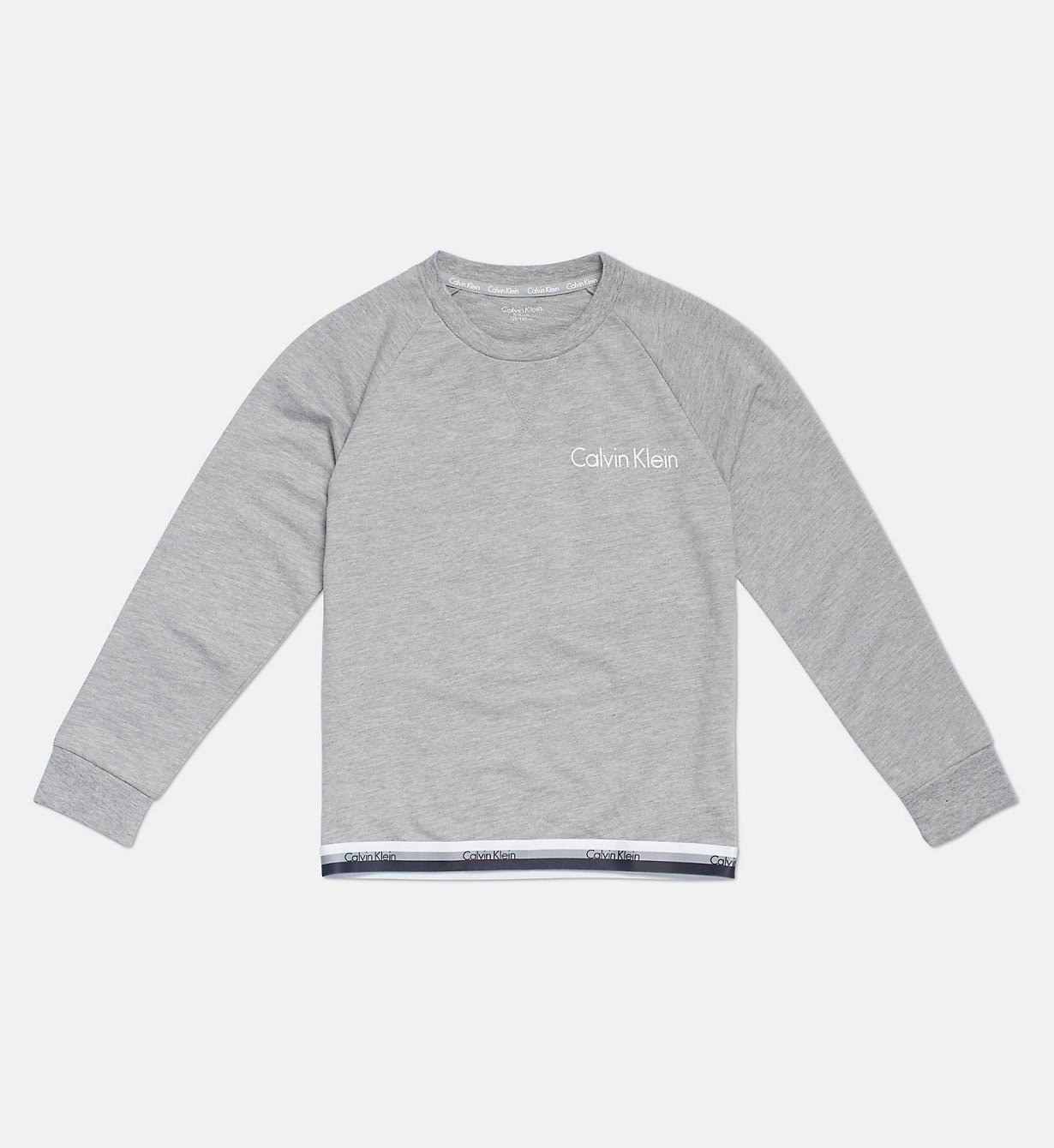 Long Years Klein Sleeve Heather Calvin Grey 12 10 Branded Tee IHwqgpf