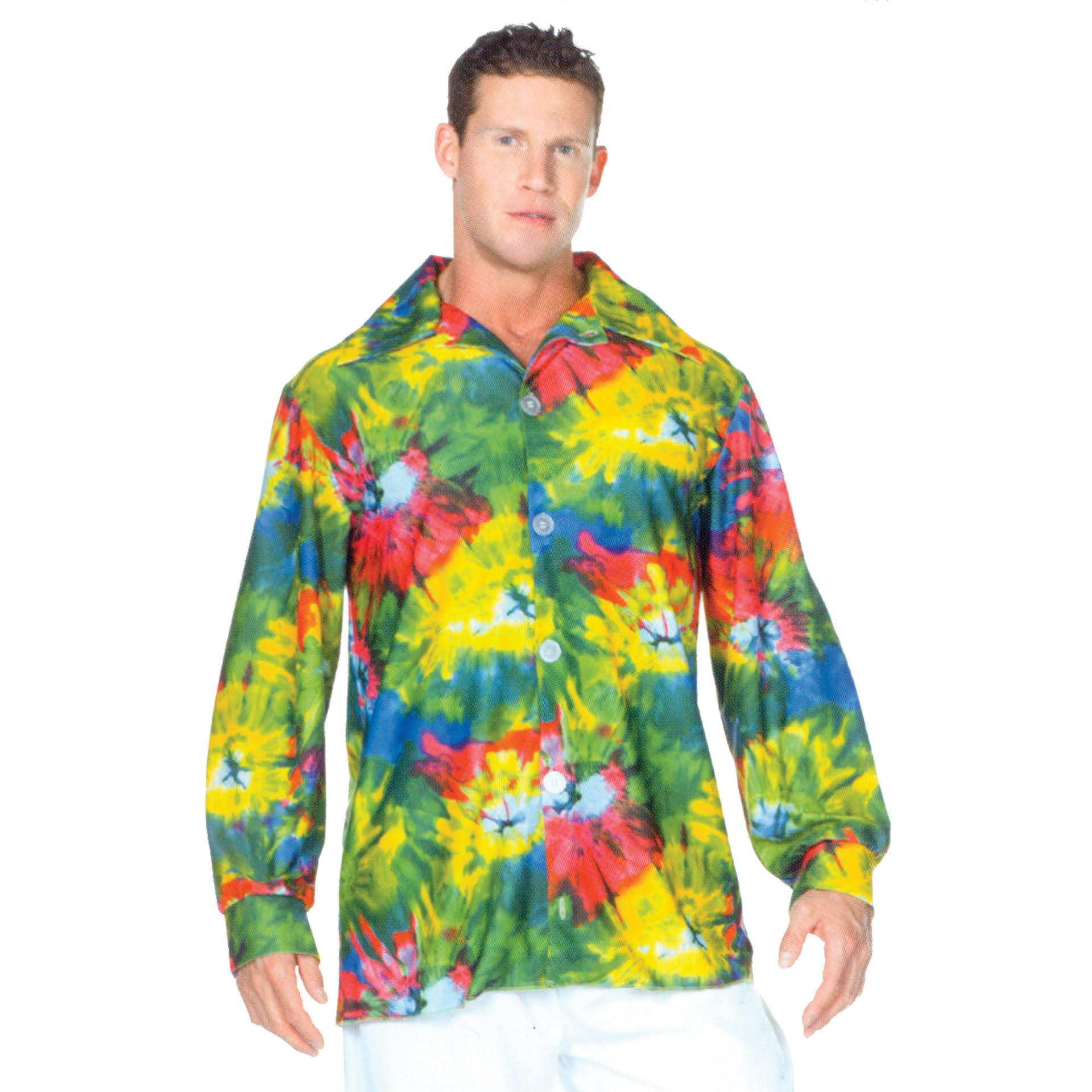 Jahre Shirt Adult 60er Dye Costumes Morris One Sz Tie xPCgqpEw