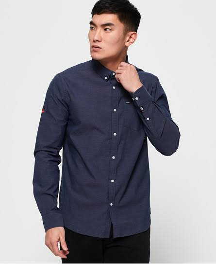 Oxford University Blau M Größe Shirt Männer Superdry Premium q7wTtqZ