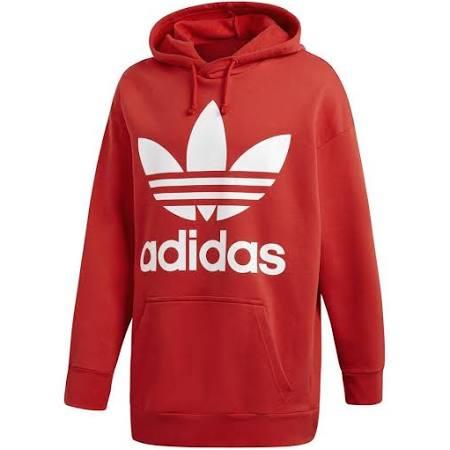 Tref Adidas Hood Rojo Col Hoodie Tamaño Hombre Over Mediano Originals g4w5qO4a