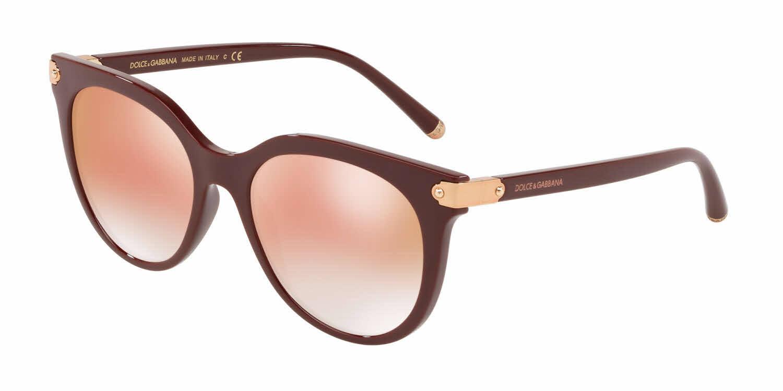 Gabbana Sonnenbrillen 30916f 140 Dolce Dg6117 18 amp; bordeaux Pink 52 tqq0w5A