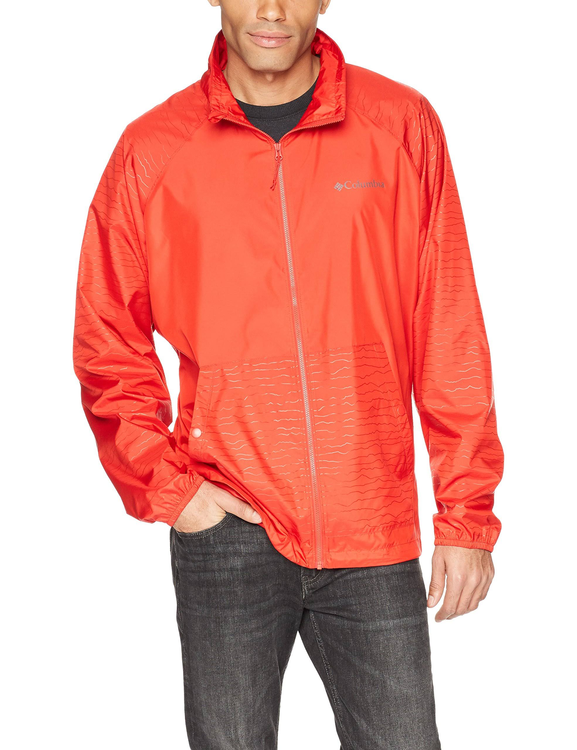 Point Spark Herrenmantel Red Windbreaker Tabor Lg Columbia a5qBv