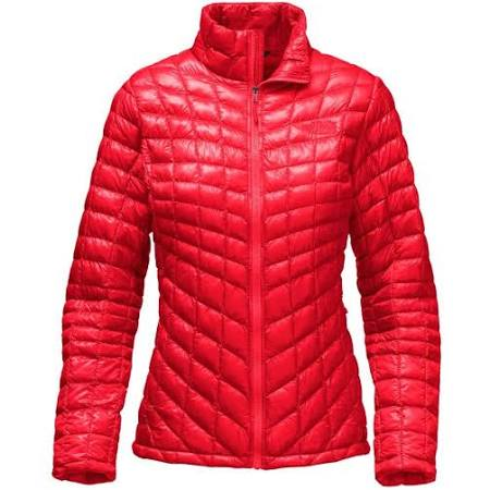 Riesgo Jacket Rojo Mujer The Thermoball North De Alto Para Fullzip Face TwIUwqv