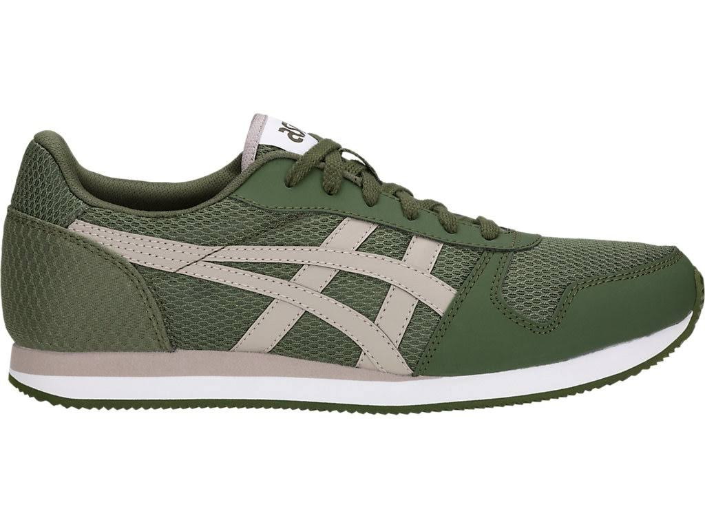 Taglia Forest Pelle Asics Sneakers Tiger 36 Ii Verde Finta moonrock Tessuto Curreo Basse Scuro RXX0wx6q
