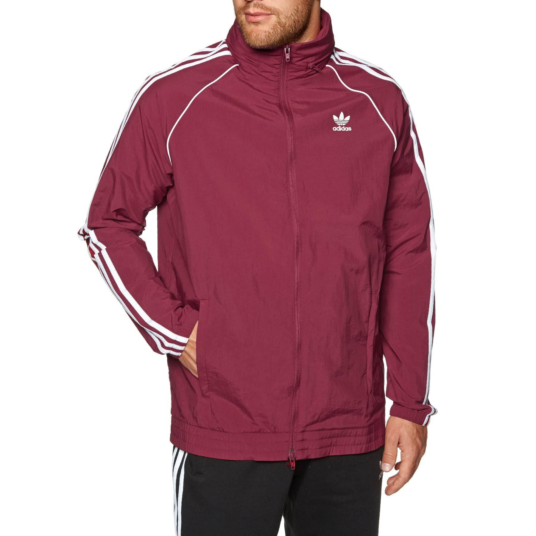 Windbreaker Burgandy Collegiate Burgundy Herren Sst L Adidas aqRxwZ5Z8