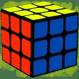 Rubik Cube 3x3x3 De Idéal Classic Mind Game Puzzle Authentique Cadeau