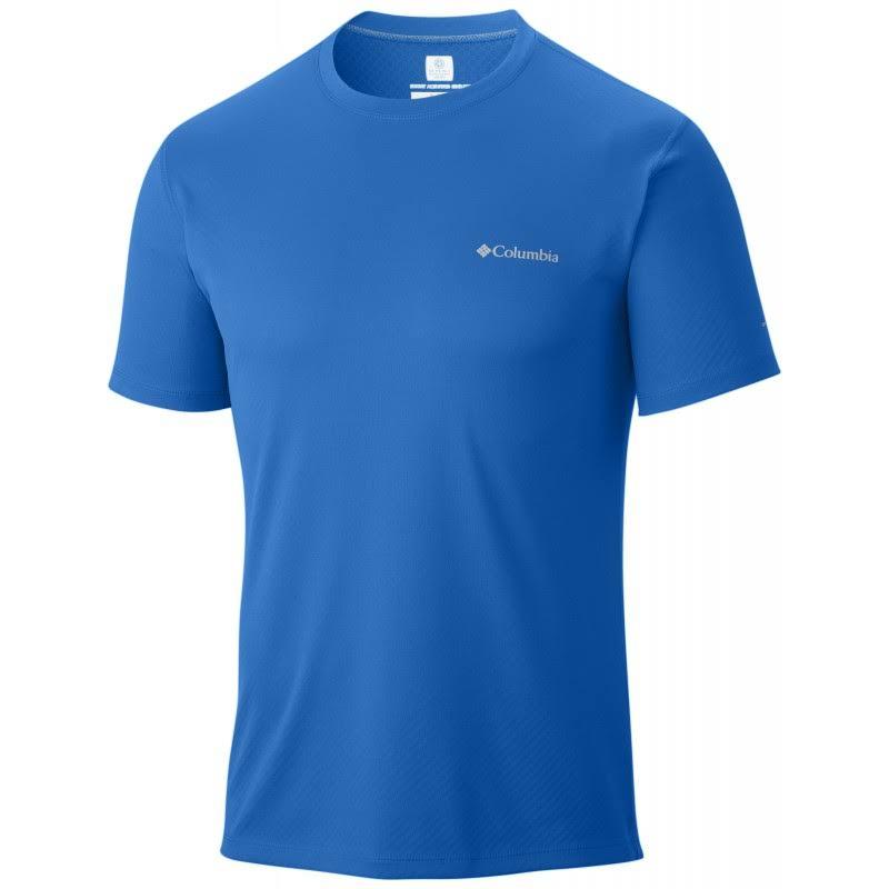 Hombre Rules Para Hyperblue L Columbia Hyper De Zero Camisa Manga Corta Blue HfxU1fnC