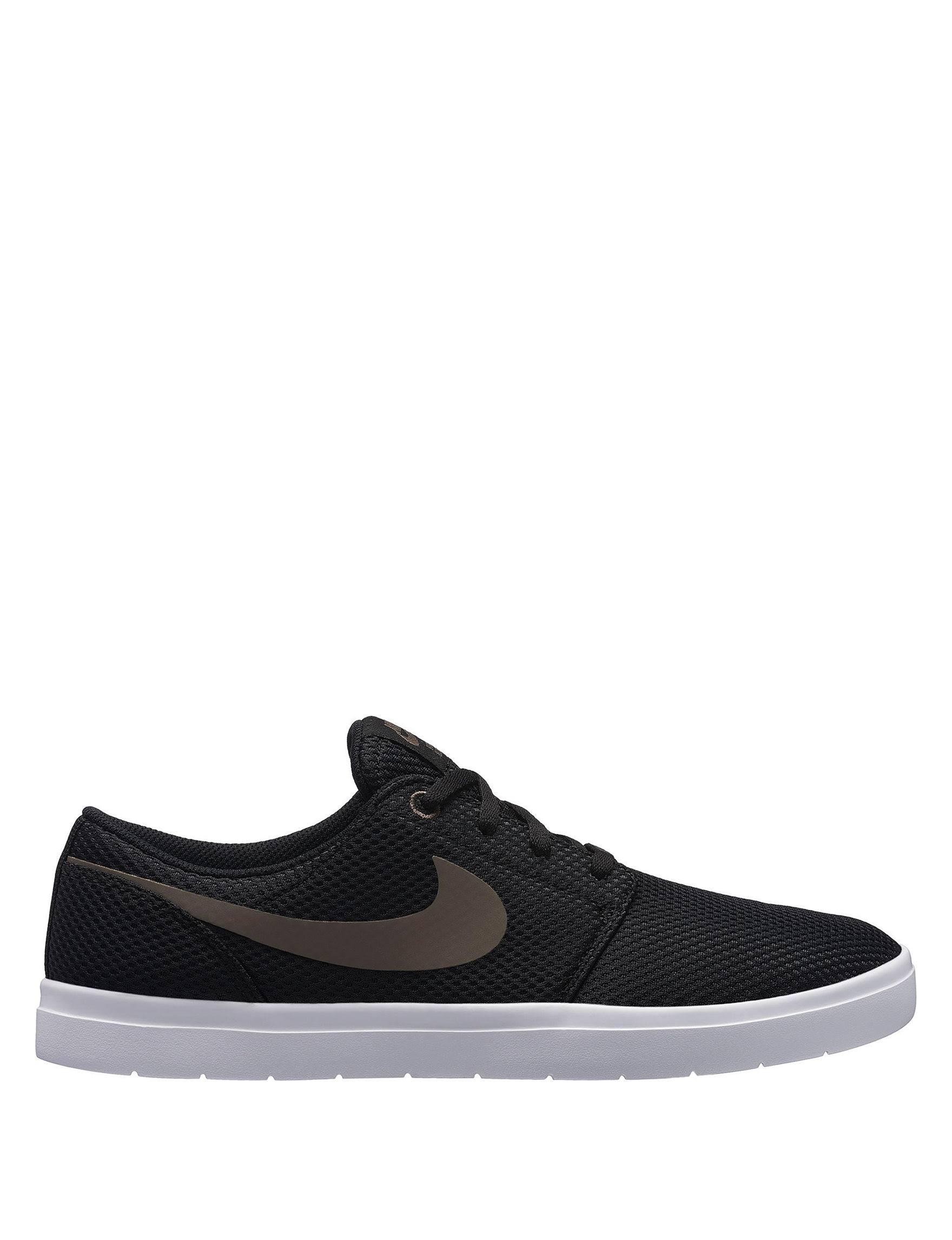 Portmore De Nike Zapatillas Hombre Negro Para Ii Color Bronceado Skate Ultraligeras Blanco Sike qIwd1w