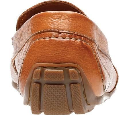 Leather 10 Clarks on Edge 5m Men's Slip Tan Benero Pwwqf4CY