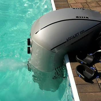 Einhänge- Gegenstromanlage Jet Stream 100 Gegenschwimmanlage Swimmingpool
