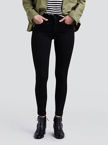 Jeans Hohem Mit 720 Bund Super Galaxy 23x30 Schwarz Frauen Levi's Rise wCRqxtWwn4