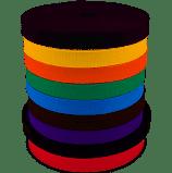 Judoband eenkleurig (5m, 25m, 50m)