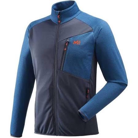 Tecno Azul Negro Jacket Millet Oscuro l Fleece Seneca HqFW5w7