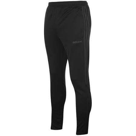 Adidas 3 Stripe Sereno Track Pants Mens - Black/Charcoal  5qFiJwK