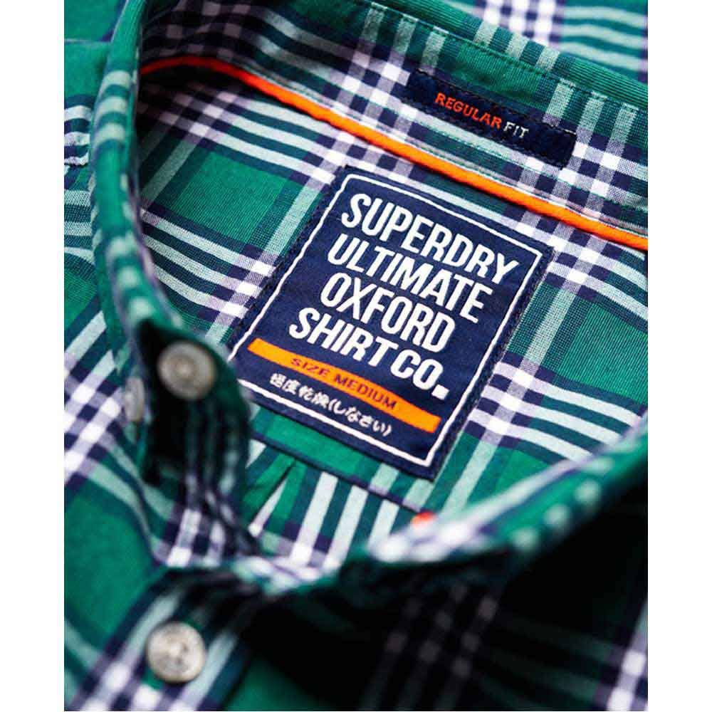 Superdry S Buckgreencheck University Oxford Ultimate HqrSH