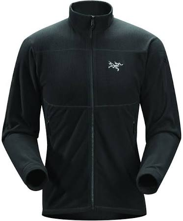 17586 Herrenmantel Jacket Delta Lt Lg Schwarz Arc'teryx BZtOqx