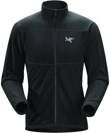 Lg Herrenmantel Jacket Delta Lt 17586 Schwarz Arc'teryx wIZYgx