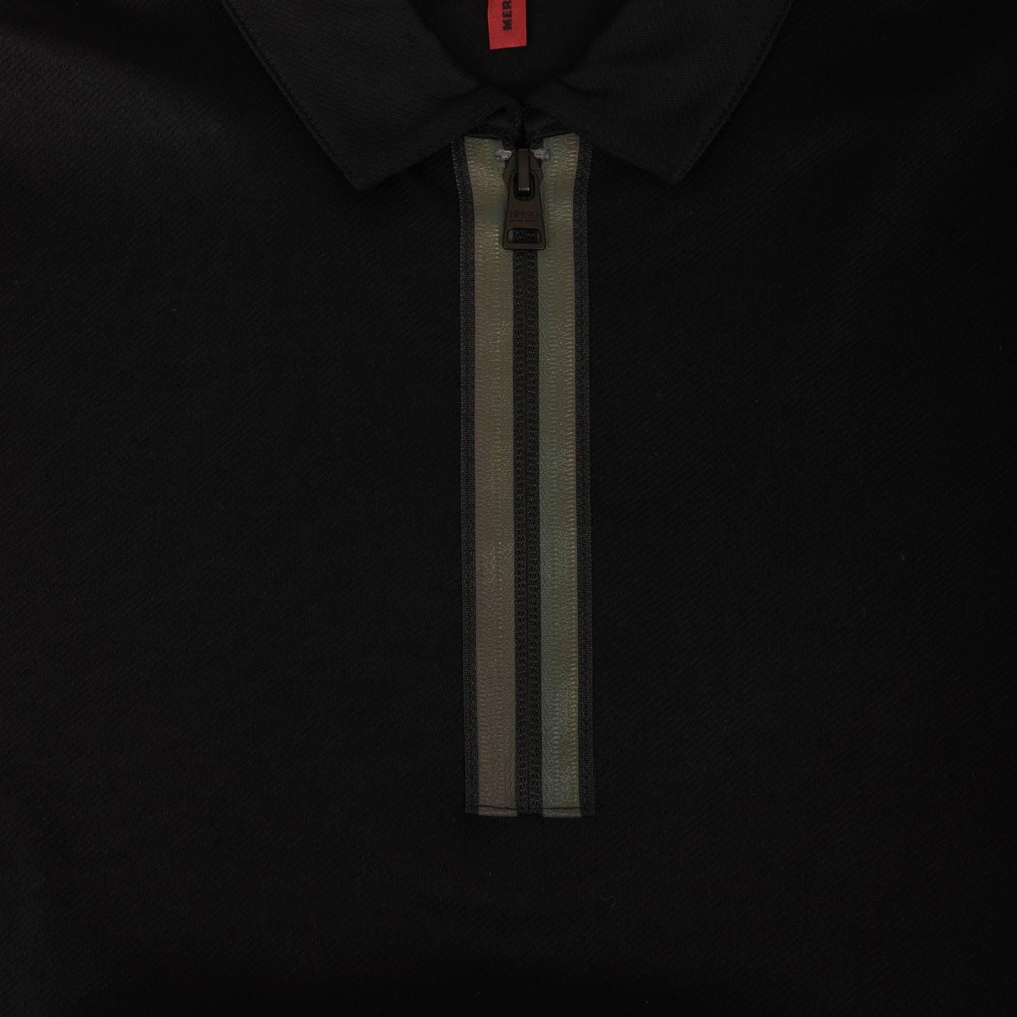 Polo jersey detail shirt Mit Placket Baumwoll Hugo Aus Uwd7qU6
