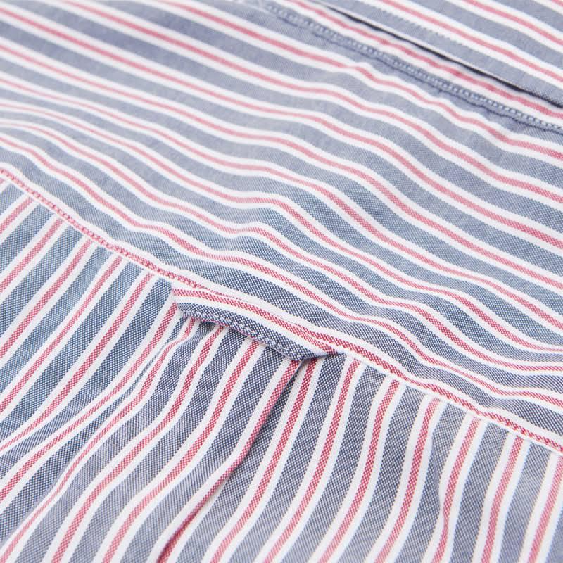 Gant gt;herrenhemden Accessoires Oxford Sale amp; Shirt S Bekleidung Multistripe Regular Tech Raspberry Size Red Prep RrHwZRxq
