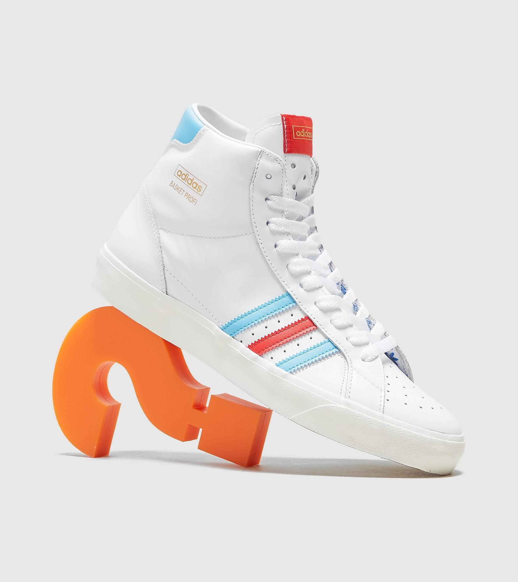 Adidas Originals Basket Profi, White - White - Size: 8.5