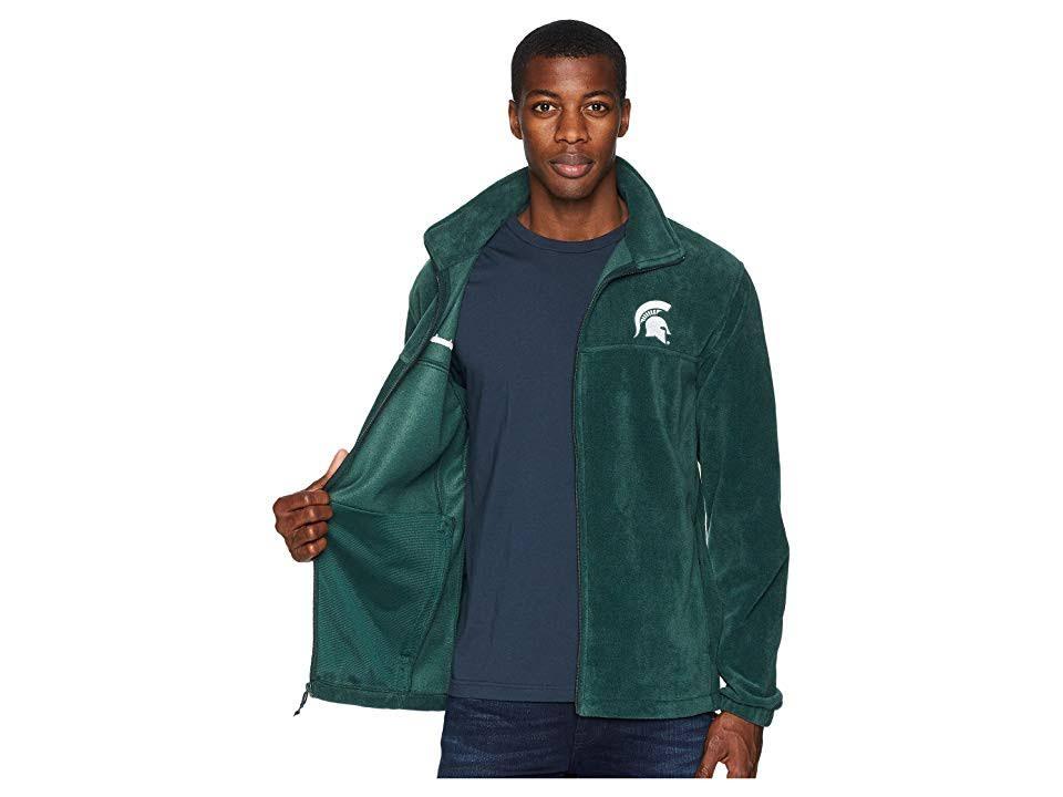 Hombres Spruce Columbia Flanker Collegiate Ms Ii Fleece Para Green M IX4nvzndx