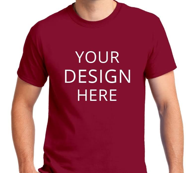 Kundenspezifische shirt Größe shirts Kardinal L Gildan T Erwachsene T wqxA4wR1