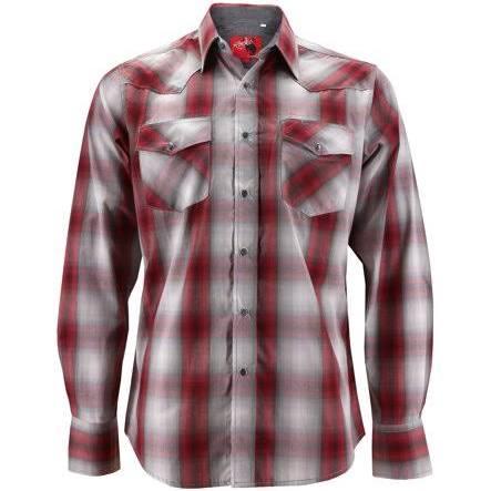 Cowboy Hemd Rodeo weiß Western kleidung Premium Herren Perle Kariertes 4rI47