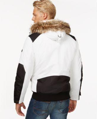 Concepts Cire Hombres I Inc n Iridiscente c Black Parka Coat International xX5qqfw0