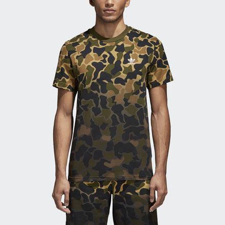 Camisa Adidas Multicolor Adidas Multicolor Camuflaje Camuflaje Camisa BqRT6zBw
