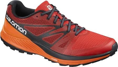 Shoes Escape 7 Running Trail Fiery Red 5 Salomon Sense Uk qZvSBB