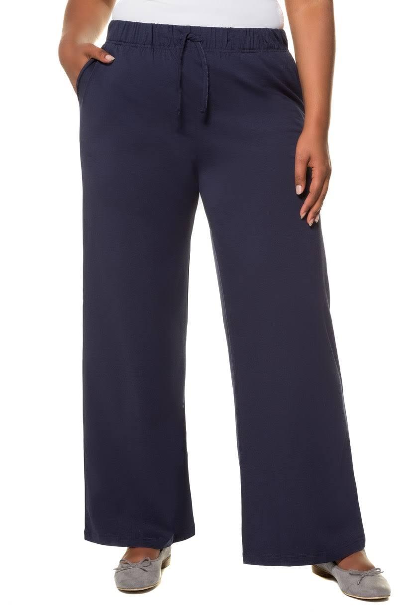 Cordon Élasthanne taille De Avec Minuit Popken 24 Stretch Tricot Ulla Grande Taille Serrage Et En Large 26 Pantalon Coton EZU6qxR